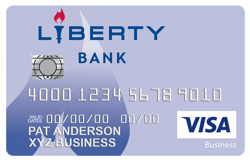 Business credit card rates ct liberty bank visa business card reheart Gallery